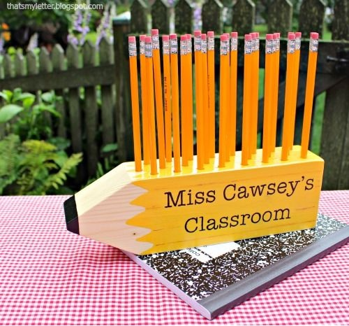'S' Is Scrap Wood Projects: Teacher Gifts
