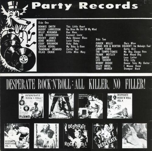 Be Bop Wino: Desperate Rock'N Roll Volume Ten