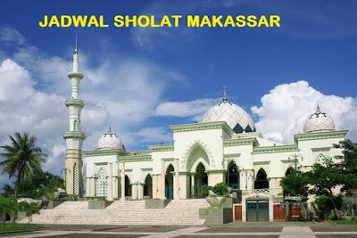 Jadwal Sholat Makassar Hari Ini