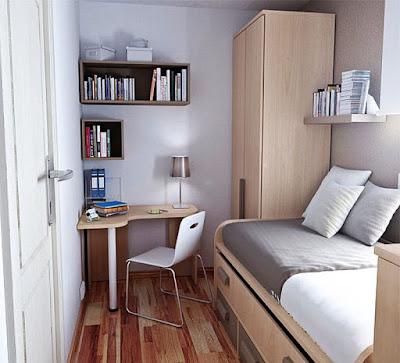 Phòng ngủ nhỏ hẹp 10m2 đẹp