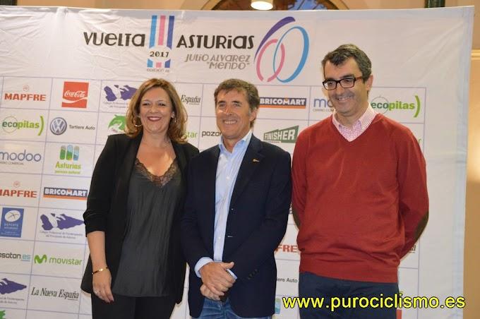 Gala de entrega de las insignias de oro de la Vuelta a Asturias 2017