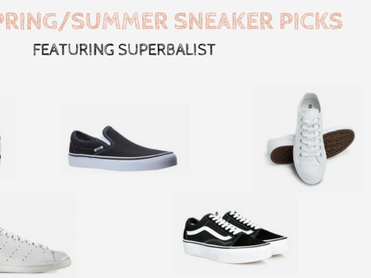 Top 5 Spring/Summer Sneaker Picks