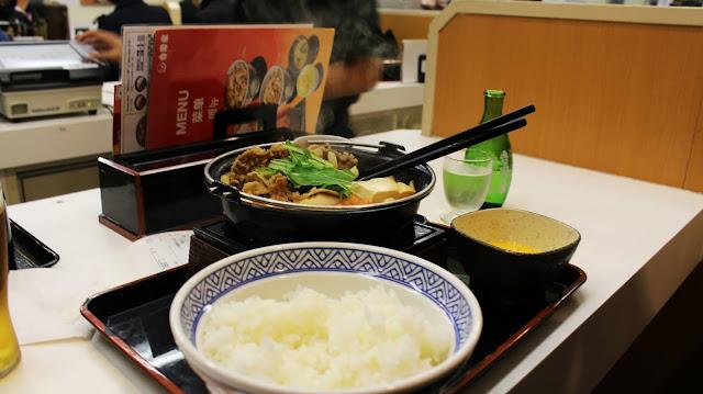 Sukiyaki Yoshinoya