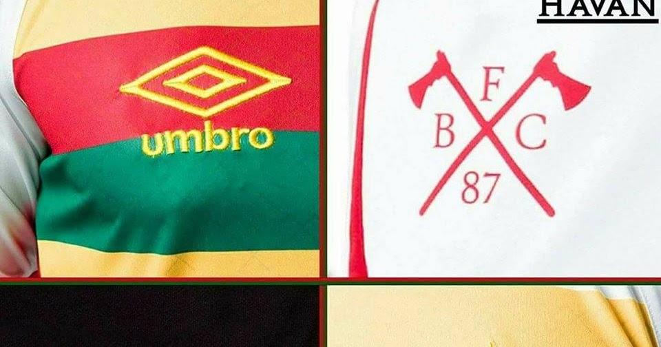 3edfc0916c Umbro exibe detalhes da nova camisa do Brusque - Show de Camisas