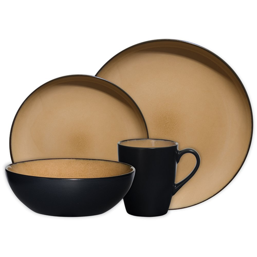 best dinnerware sets: Gibson Antica Roma 16-Piece ...