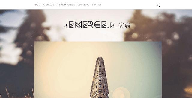 Emerge Blogger Template