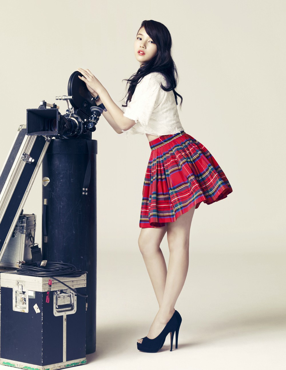 Miss A and Baek Ah Yeon for Céci - POPdramatic
