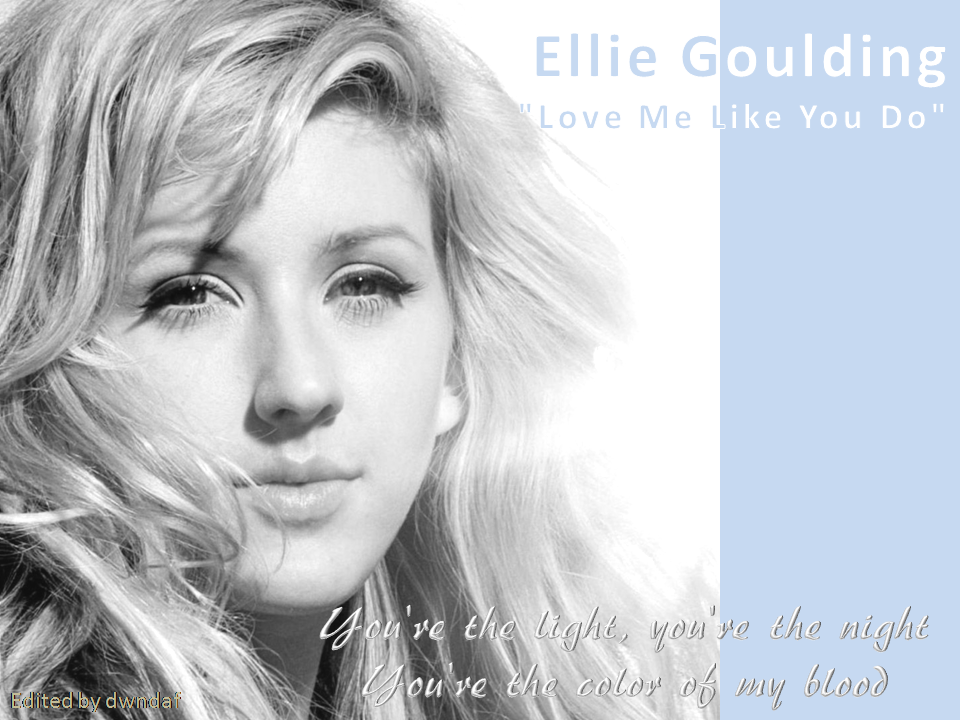 Lyric ellie goulding my blood lyrics : dwndaf-on at blog: Ellie Goulding