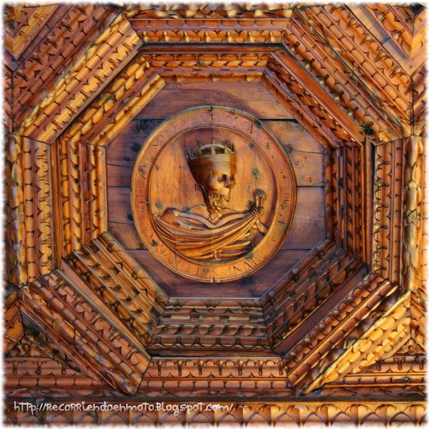 Casetón de la muerta. Monasterio de Uclés