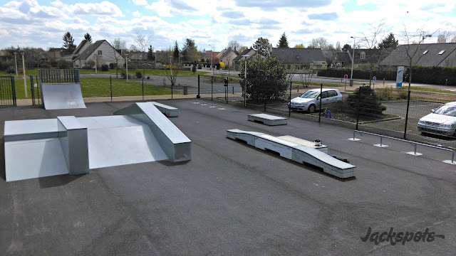 Skatepark Fondettes nouveau