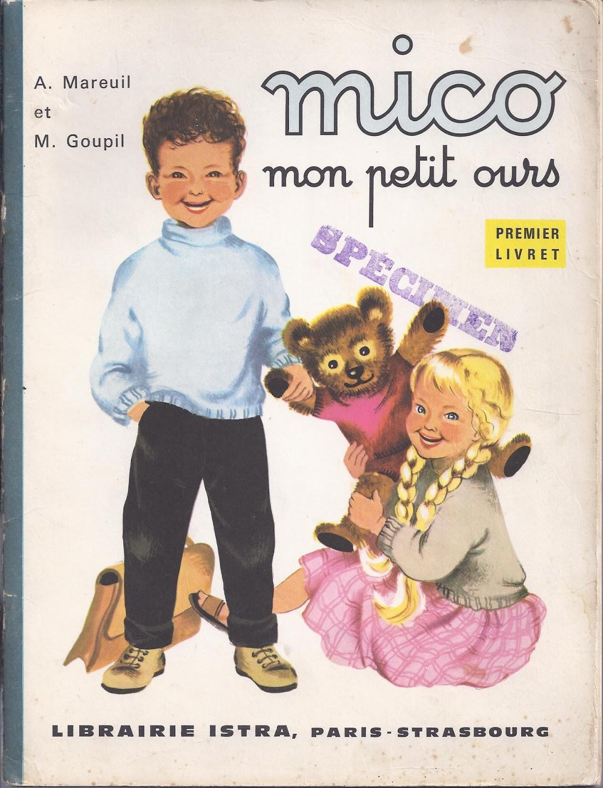 Super Manuels anciens: A. Mareuil et M. Goupil, Mico, mon petit ours  VR99