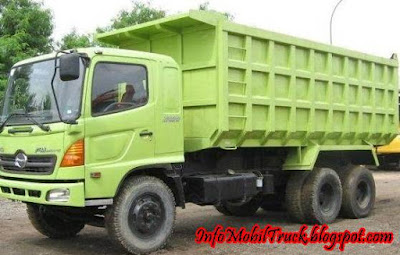 Dump truck raja jalanan hino lohan
