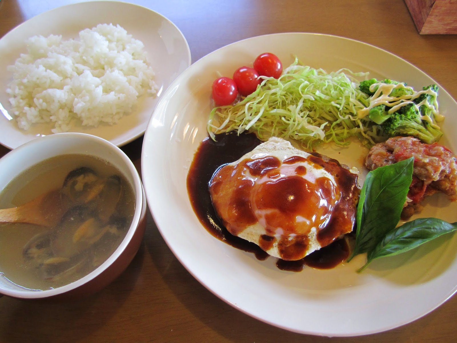 Daily Lunch Set Towada Bunny Rabbit Cafe Usa Cafe Lovelies 日替わりランチセット十和田うさぎカフェ うさカフェラヴリーズ