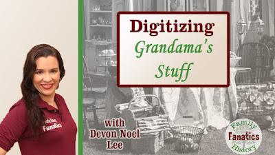 Genealogy Preservation Webinar Thumbnail