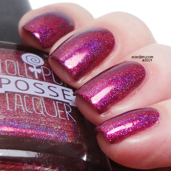 xoxoJen's swatch of Lollipop Posse Solitary Witches Society
