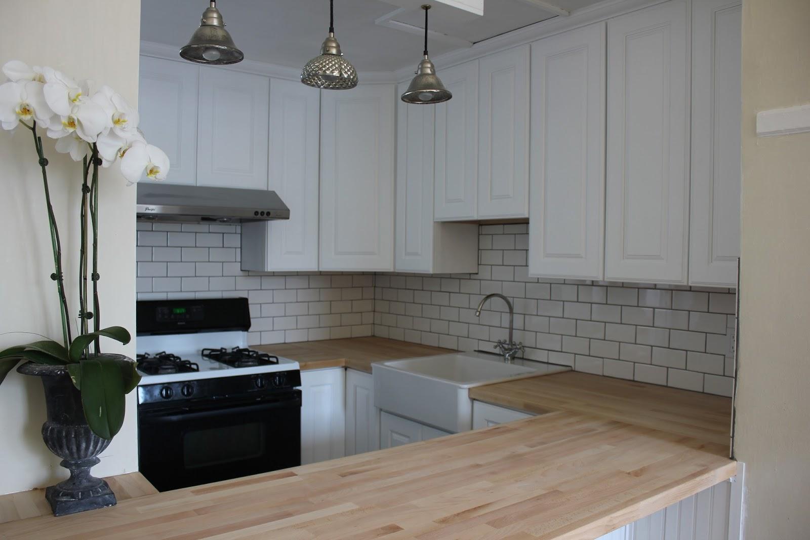 Ikea Kitchen Butcher Block Counter Modern Diy Art Designs
