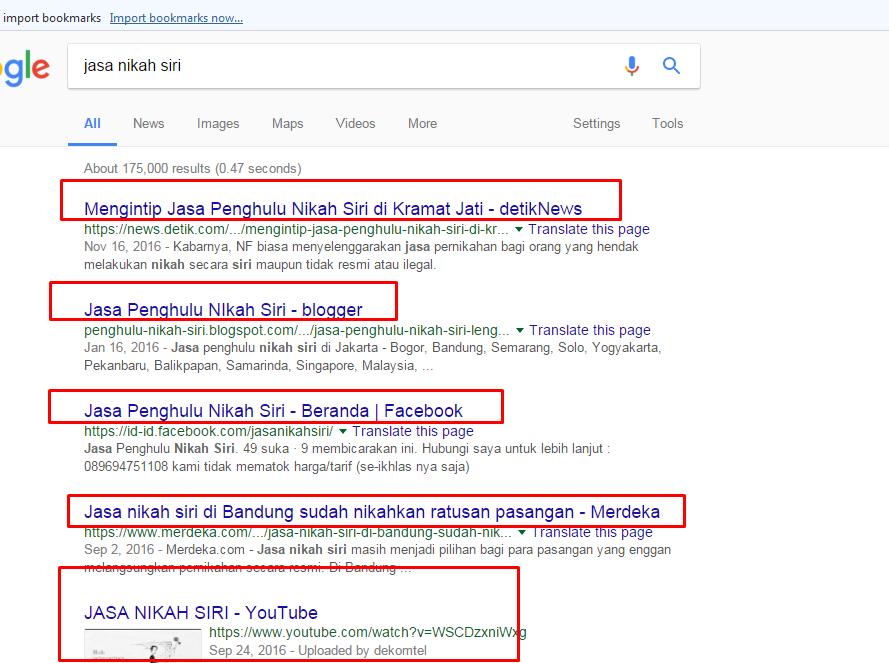 Kua Blimbing Kota Malang Hati Hati Dengan Iklan Jasa Nikah Siri