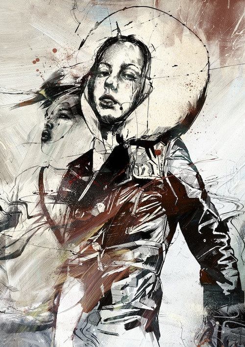13-New-Kingdoms-Russ-Mills-Paintings-with-Intensity-of-Expression-www-designstack-co