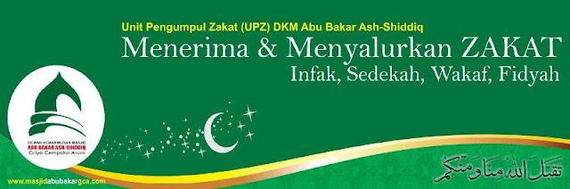 Unit Pengumpul Zakat (UPZ) DKM Abu Bakar Ash-Shiddiq