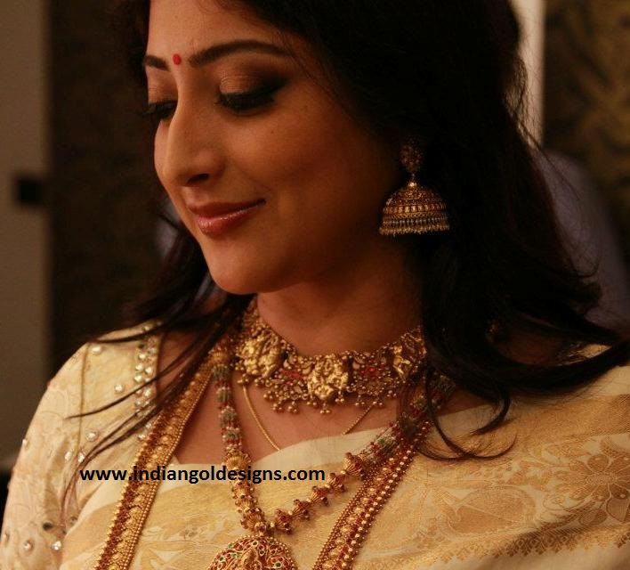 Gold And Diamond Jewellery Designs: Lakshmi Gopalaswami In
