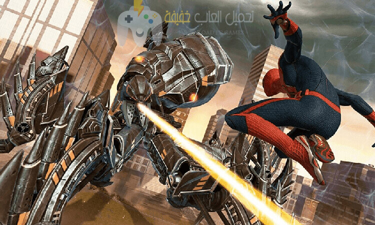 تحميل لعبة سبايدر مان 1 Spider Man للكمبيوتر بحجم صغير