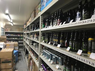 びあマBASEのビール貯蔵庫