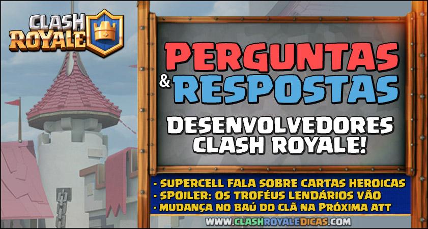 Desenvolvedores Clash Royale