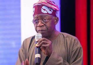 TINUBU GRADES GOODLUCK JONATHAN'S ADMINISTRATION WITH GOLD MEDAL IN CORRUPTION
