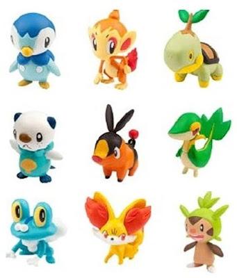Takara Tomy Pokemon figure Moncolle 20th Anniversary Starter Set Vol 4 5 6