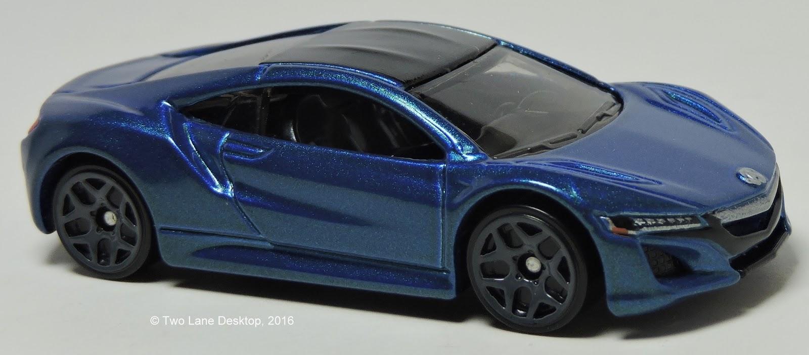 Two Lane Desktop: Hot Wheels 2017 Acura NSX