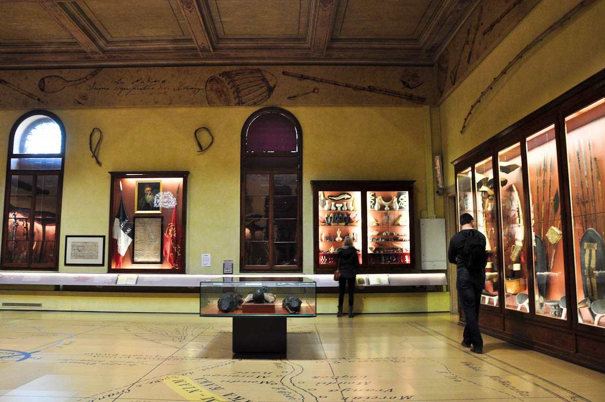 The Anthropology section, Natural History Museum, Venice, Italy