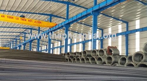 Đại lý sắt thép xây dựng ở Bình Phước
