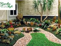 10 Inspirasi Taman Kering untuk Rumah Minimalis - Tukang pembuatan Taman Surabaya