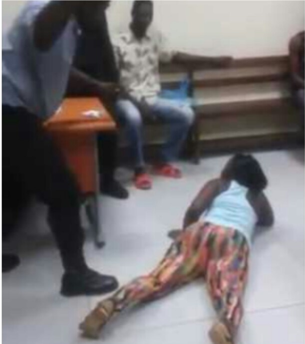 SO HILARIOUS : Pastor flogged a lady for her to get....(See full details)