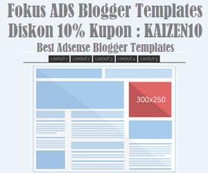 Fokus Ads - Blogger Templates