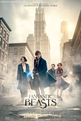 Sinopsis Film Fantastic Beasts and Where to Find Them