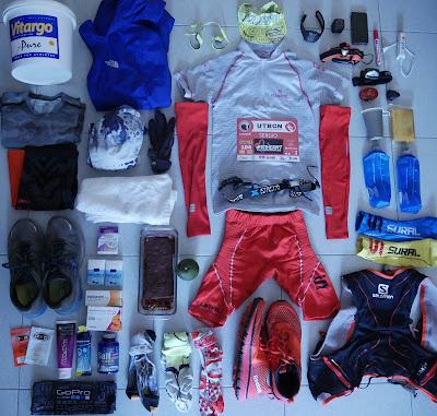 utbcn 100km 2016 ultra trail barcelona begues material