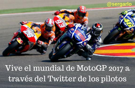 Twitter, MotoGP, Pilotos, Redes Sociales, Motociclismo