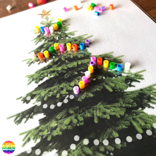 FREE Christmas Fine Motor Skills Mats | you clever monkey