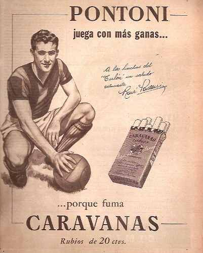 Pontoni juega con más ganas porque fuma Caravanas