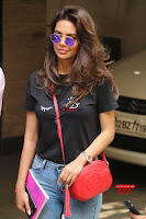 Cute Esha Gupta in Black T Shirt and Denim Jeans ~  Exclusive Galleries 002.jpg