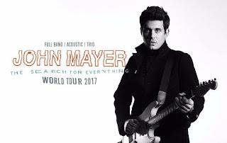 Gira mundial 2017 de John Mayer