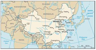 Letak Geografis, Sejarah, Peta Luas dan Batas-Batas Wilayah, Bentang Alam, Serta Keadaan dan Jumlah Penduduk Negara di China, Korea dan Jepang