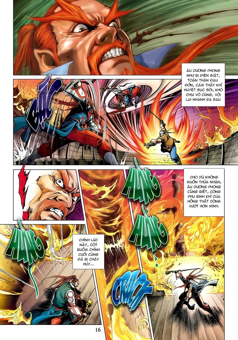 Anh Hùng Xạ Điêu anh hùng xạ đêu chap 53: lâm nguy thụ mệnh đả cẩu học pháp trang 17
