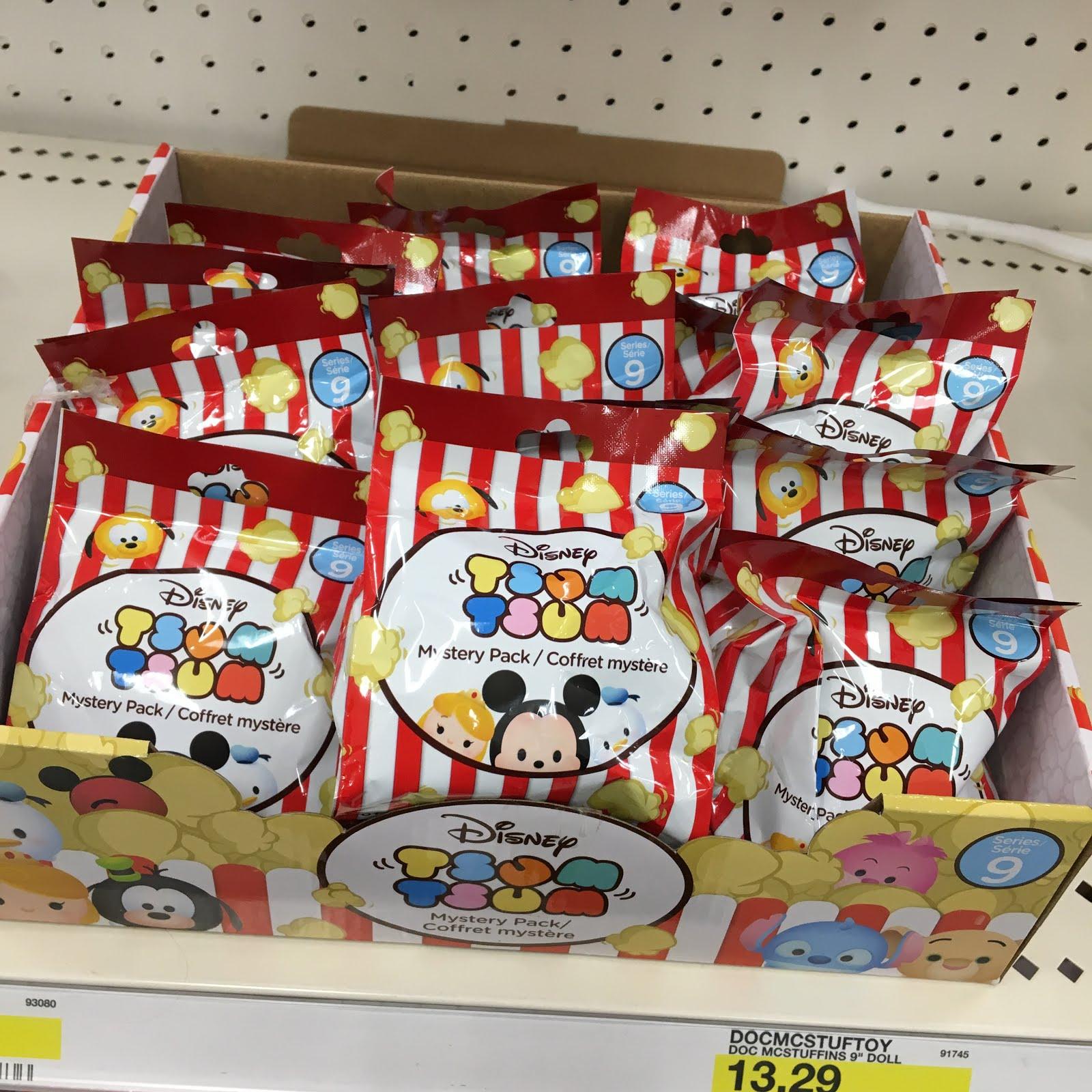 Disney Tsum Tsum Mystery Packs by Jakks Pacific Series 9 Pixar