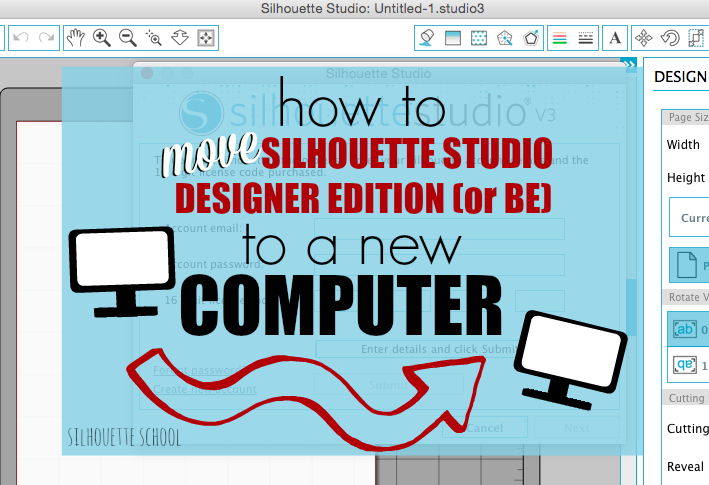 Installing Silhouette Studio Designer Edition or Business