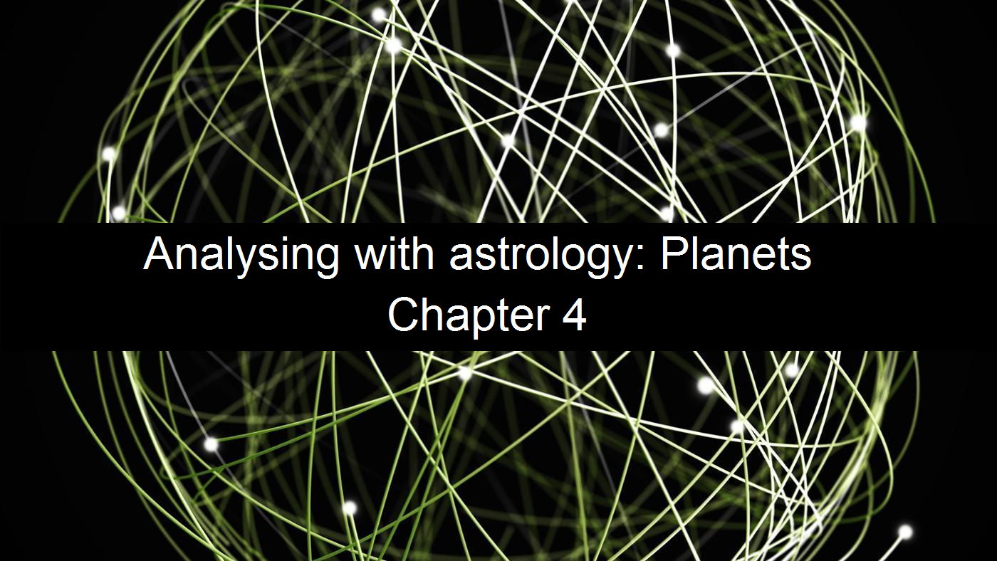 Occult Enlightenment: Analysing with astrology: Planets