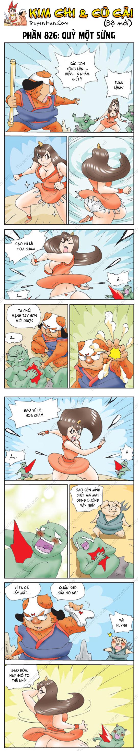 Kim Chi Và Củ Cải Phần 826: Quỷ một sừng