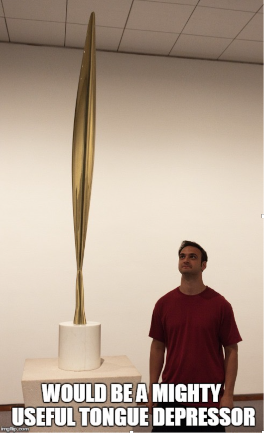 Guest Post: Reacting to the Past: Brancusi VS. US Government