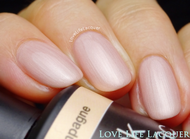 Pink Gellac Champagne Swatch Uncovered1